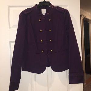 Halogen purple jacket